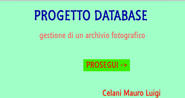 Progetto Database