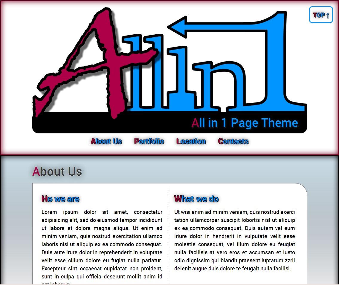 Allin1 Theme